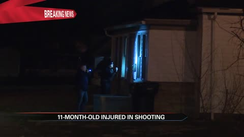11-month-old injured in South Bend shooting