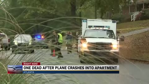 2 killed when small plane crashes into Atlanta-area townhome