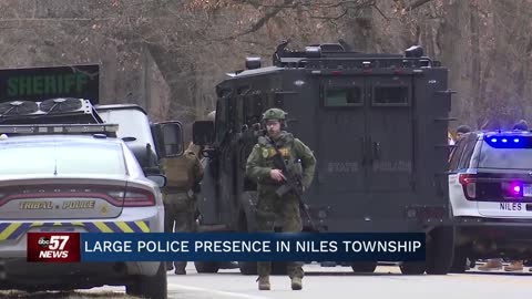 5 p.m.: Large police presence in Niles