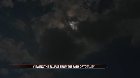 6 pm live from carbondale solar eclipse doesnt disappoint