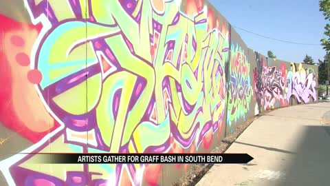 Graff Bash showcases graffiti art, benefits children's shelter