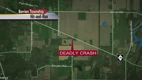 Hit and run in Berrien County leaves a bicyclist dead
