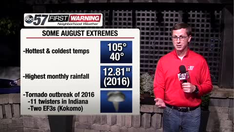 August in Michiana can be wild