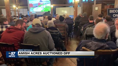 Amish Acres auctioned off