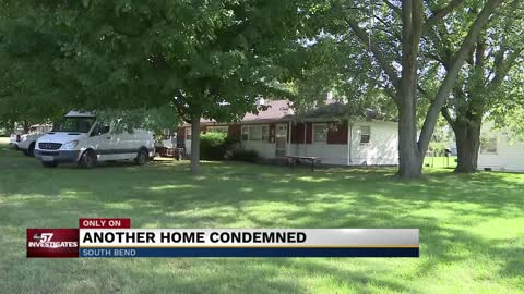 Another South Bend home condemned leaves family homeless