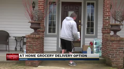 At home grocery delivery option