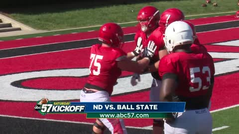 Notre Dame game a homecoming for Ball State's Michiana players