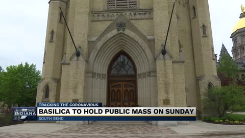 Basilica at Notre Dame reopening Sunday, safety expectations