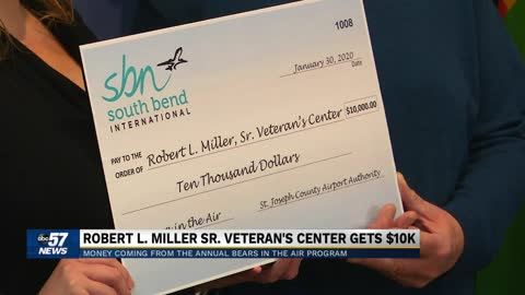 Bears in the Air program donates its proceeds to a local veteran's center