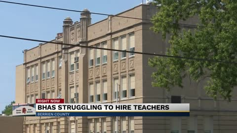 Benton Harbor Area Schools working to hire teachers for the fall