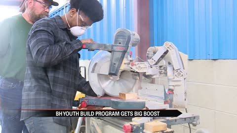 Benton Harbor's Youth Build program gets a big boost