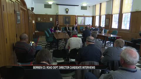 Berrien County inches closer to naming new road department director