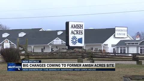 Former Amish Acres site to be renamed 'The Barns at Nappanee;' Owners hope to open by Good Friday