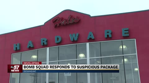 Bomb squad responds to suspicious package in Dowagiac