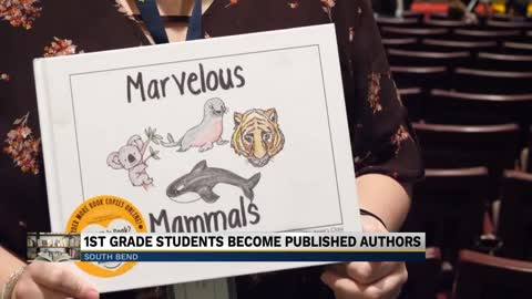 Book written by first graders at Nuner Elementary gets published