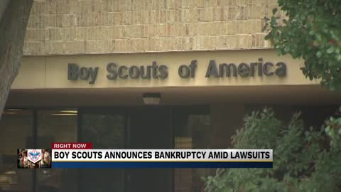 Boy Scouts of America files for bankruptcy amid hundreds of sexual...