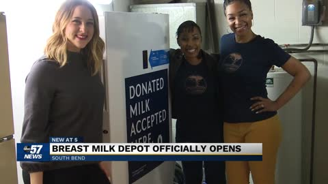 Breast milk donation site in South Bend celebrates grand opening