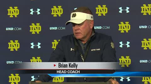 Brian Kelly and Notre Dame respond to former player's lawsuit