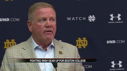 Brian Kelly moving past Georgia loss to focus on B.C.