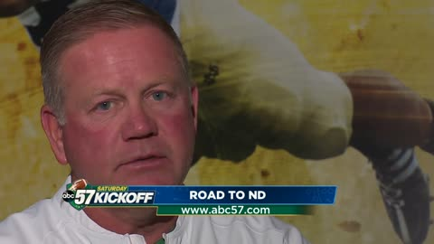 Brian Kelly's journey from football player to coach