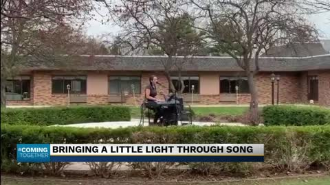 Bringing a little light through song