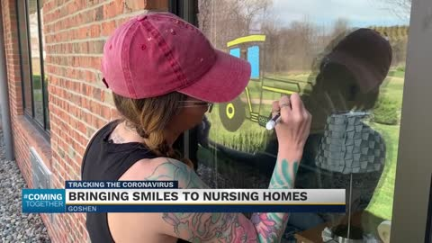 Bringing smiles to nursing homes