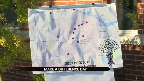 "Buchanan celebrating 6th annual ""Make a Difference Day"""