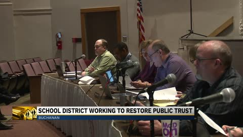 Buchanan Community Schools works to fix public 'distrust'