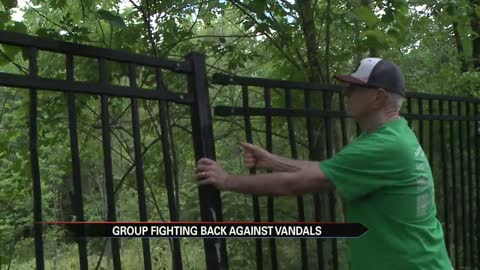Buchanan group fighting back against trail vandals