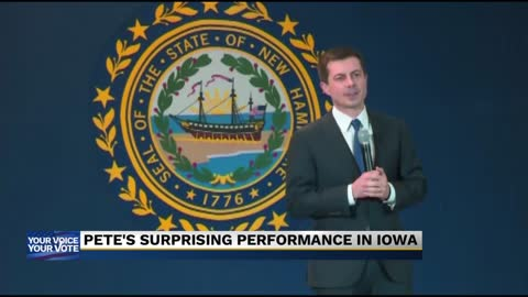Buttigieg holds narrow lead as majority of Iowa precincts report...