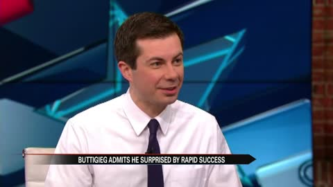 Buttigieg surprised by his rapid rise in presidential race