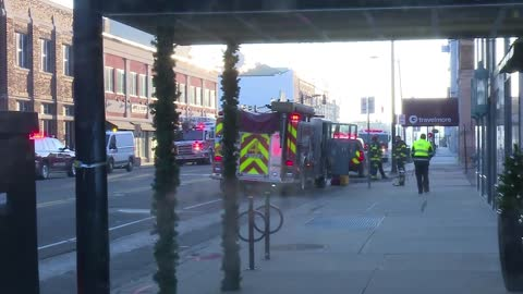 Carbon monoxide leak causes evacuation of downtown South Bend building on Colfax
