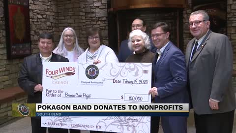 City of South Bend and Michiana non-profits receive large donation...