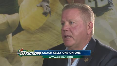 Coach Kelly discusses Michigan, the season and the possibility of another championship