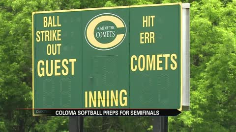 Coloma softball prepares for big stage at state semifinals