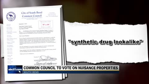 Common Council to vote on proposal that could impact the number of drug houses in South Bend