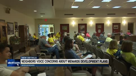 Community members voice their opposition to opening of Menards store