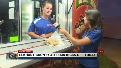 Concessions at the Elkhart County 4-H Fair