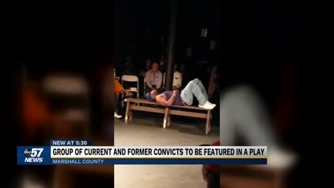 Ex and current convicts create play to ease transition into community