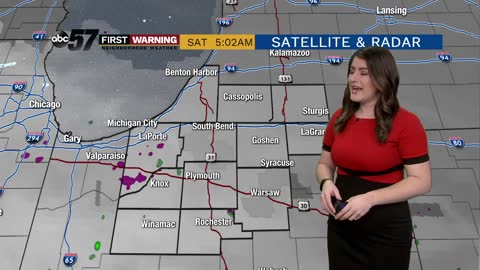 Strong system brings mild weather and rain this weekend