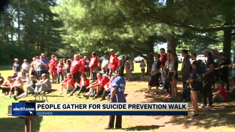 Darkness Walk in Goshen raises awareness to prevent suicide