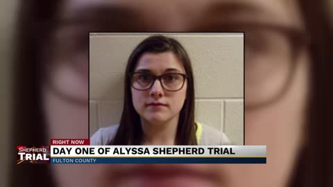 Day one of testimony for the Alyssa Shepherd trial concluded...