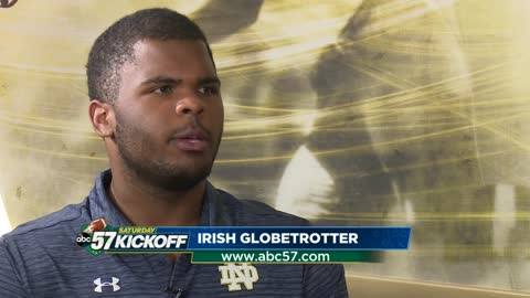 Tillery's Travels: How Irish DT Jerry Tillery's globetrotting is making him a better player
