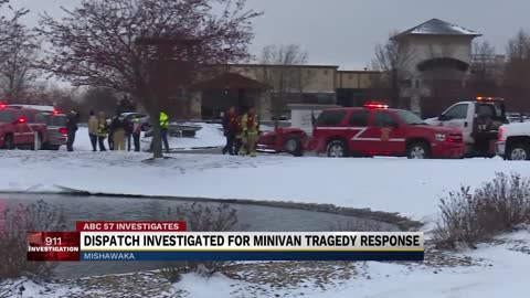 Dispatch investigated for minivan tragedy response
