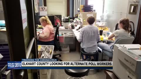 Elkhart County election officials still looking for alternate...