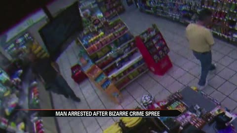 Alleged crime spree included commentary on 7-Eleven's coffee