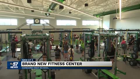Concord High School celebrates opening of new fitness center