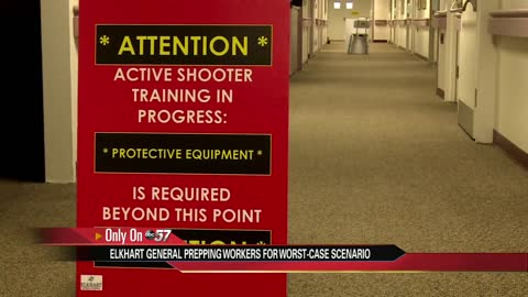 Elkhart General hoping to save lives with active shooter simulation