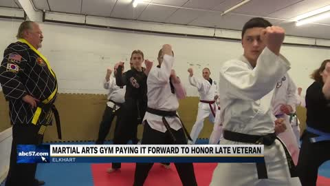 Elkhart Martial Arts honors late veteran