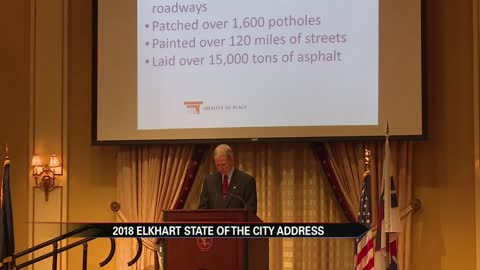 Elkhart mayor delivers State of the City address